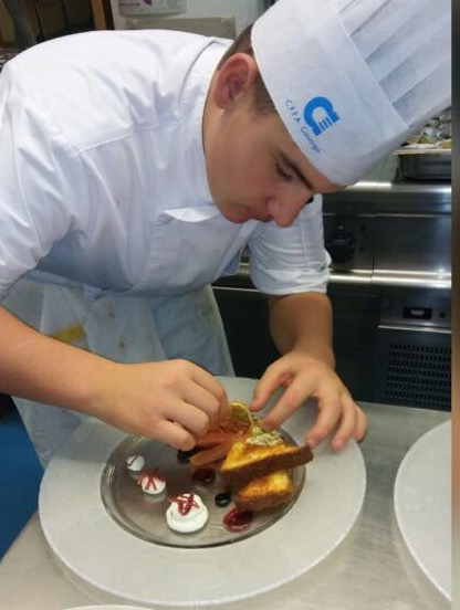 """Riccardo """"Chef Galbia"""" Galbiati, a cui è intitolata Ristorexpo Young Generation"""